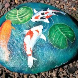 Jak namalovat rybky na kamínky