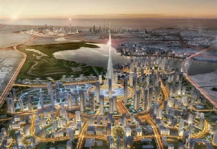 Megamrakodrapy v roce 2020 přesáhnou kilometr výšky
