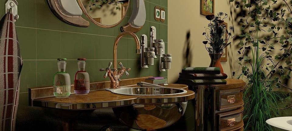 Vkusné umyvadlo dodá vaší koupelně jedinečný styl