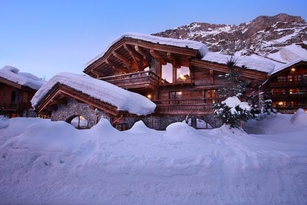 Luxusní alpský resort Marco Polo ve francouzských Alpách, který vás uchvátí