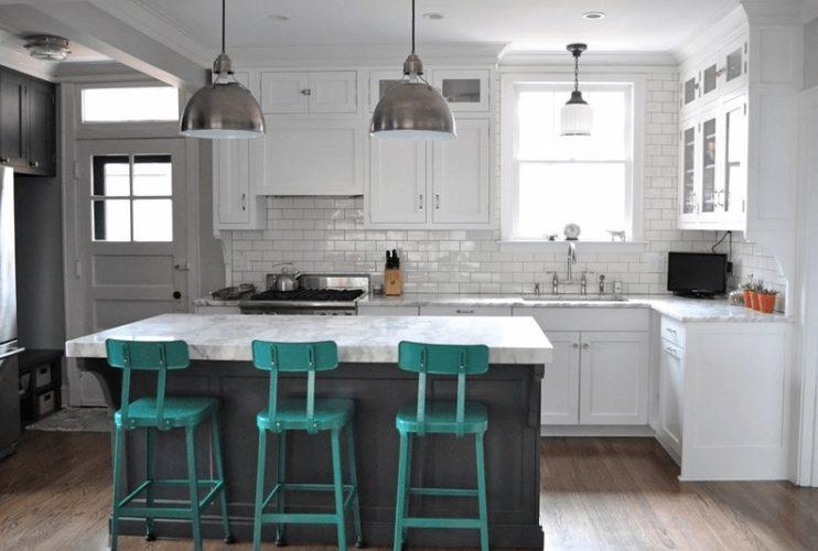 8 inspirací jak zařídit kuchyň s ostrůvkem