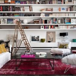 Jak může vypadat domácí knihovna