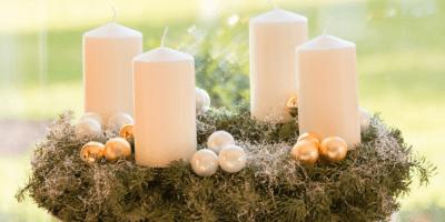Jak vyrobit adventní věnec – Krok za Krokem