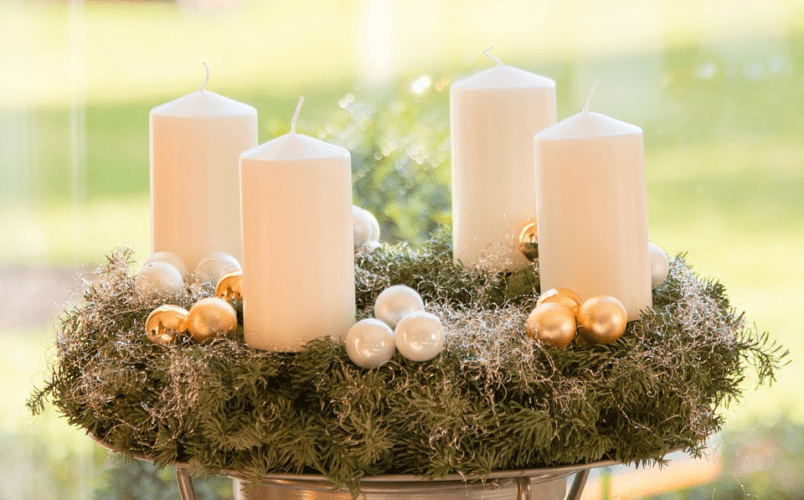 Jak vyrobit adventní věnec - Krok za Krokem
