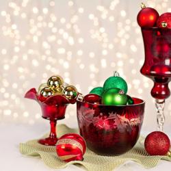 15 inspirací na vánoční dekorace bytu